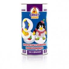 Игра в тубусе Vladi Toys Crazy Koko Варежки-носочки, укр. язык (VT8020-05)