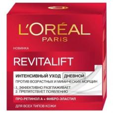 Дневной интенсивный крем-уход L'Oréal Paris Revitalift против морщин, для всех типов кожи, 50 мл