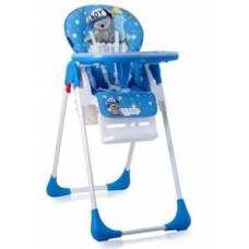 Стульчик для кормления Lorelli (Bertoni) Tutti Frutti Blue Bear Boy, синий (21278)
