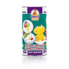 Игра в тубусе Vladi Toys Crazy Koko Цветные лягушата, рус. язык (VT8020-02)