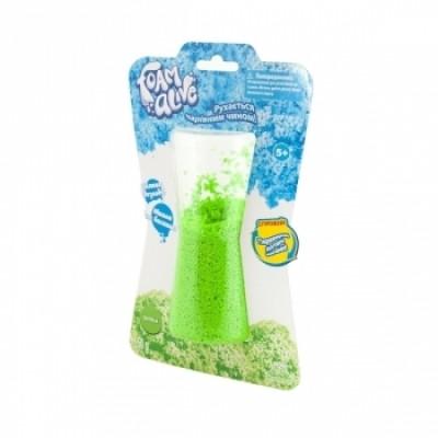 Воздушная пена для детского творчества Foam Alive Яркие Цвета, зеленый (5902-1)