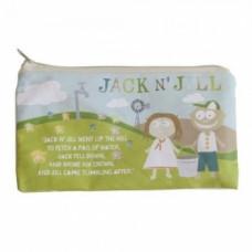 Косметичка Jack N' Jill, хлопок, 16х10 см